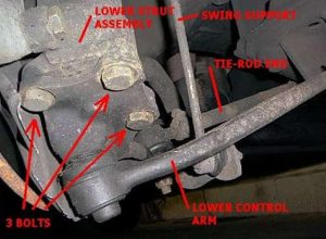 How to Remove Ball Joint from Upper Control Arm